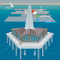 Pier illustration