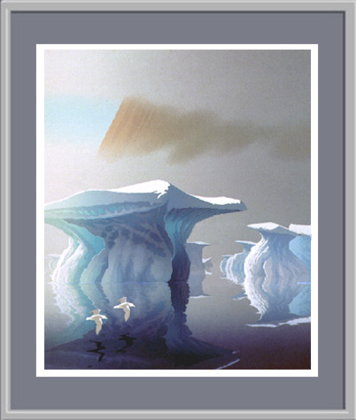 Arctic Serigraphs By Scott And Lindhagen